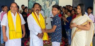 प्रणवम स्कूल ऑफ़ चिल्ड्रेन आर्ट्स में ओणम त्योहार मनाया गया   #NayaSaberaNetwork