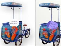 Jasa pembuatan Gerobak Sepeda - Gerobak Roti keliling,Gerobak Susu murni keliling,Gerobak sepeda unik
