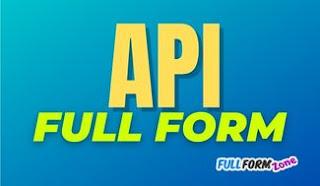 API Full Form