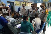 Polsek Cibeber Adakan gebyar Vaksinasi di Kantor Desa Ciherang