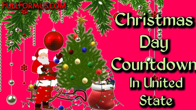 Christmas Day in United States Countdown 2021