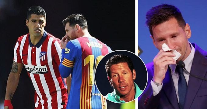 Simeone revealed asking Suarez to convince Messi to join Atletico