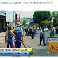 DInas PUPR Perbaiki Sepanjang jalan Bypass-Karawang