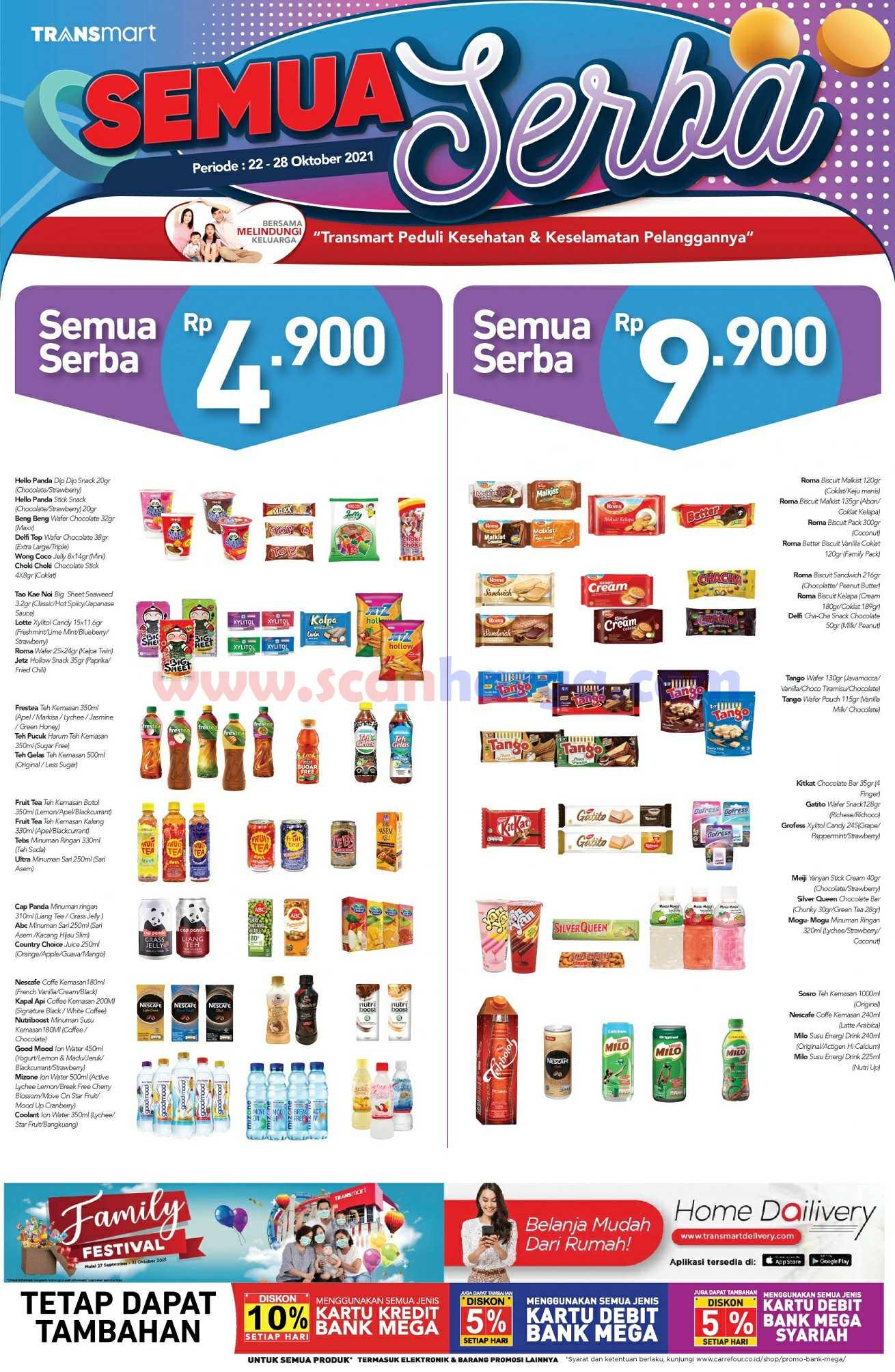 Promo JSM Carrefour Transmart Weekend 22 - 26 Oktober 2021 2