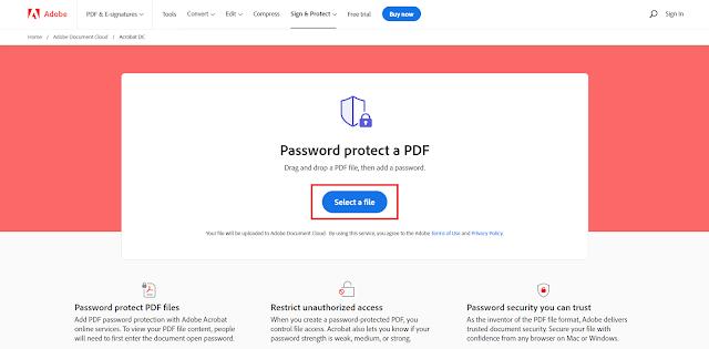 Cara Membuat Password File PDF Untuk Mengamankan PDF Anda