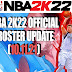 NBA 2K22 OFFICIAL ROSTER UPDATE 10.11.21 (LATEST TRANSACTIONS AND LINEUPS)