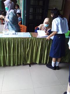 SMP Negeri 3 Medan Gelar Vaksinasi Covid-19