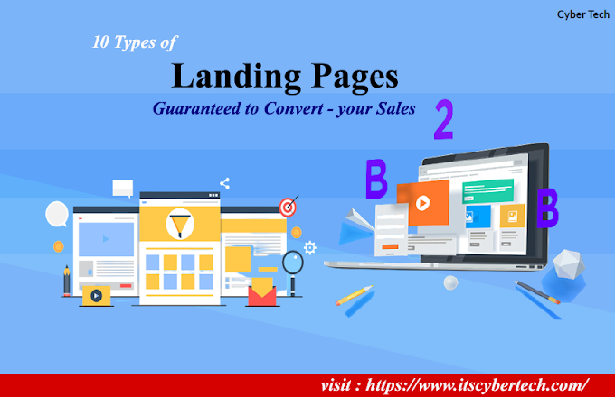 10 Types Of Landing Pages Guaranteed To Convert - Your Sales