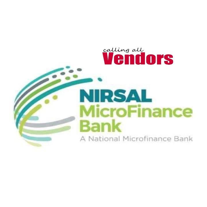 Rancen Covid-19: Dole Sai Nirsal Microfinance Bank Sun Turawa Vendor Bayananka Kafin Ya Baka Kaya, Duba Bayananda VENDOR Ke Bukata Wajan Mai Karbar Kaya