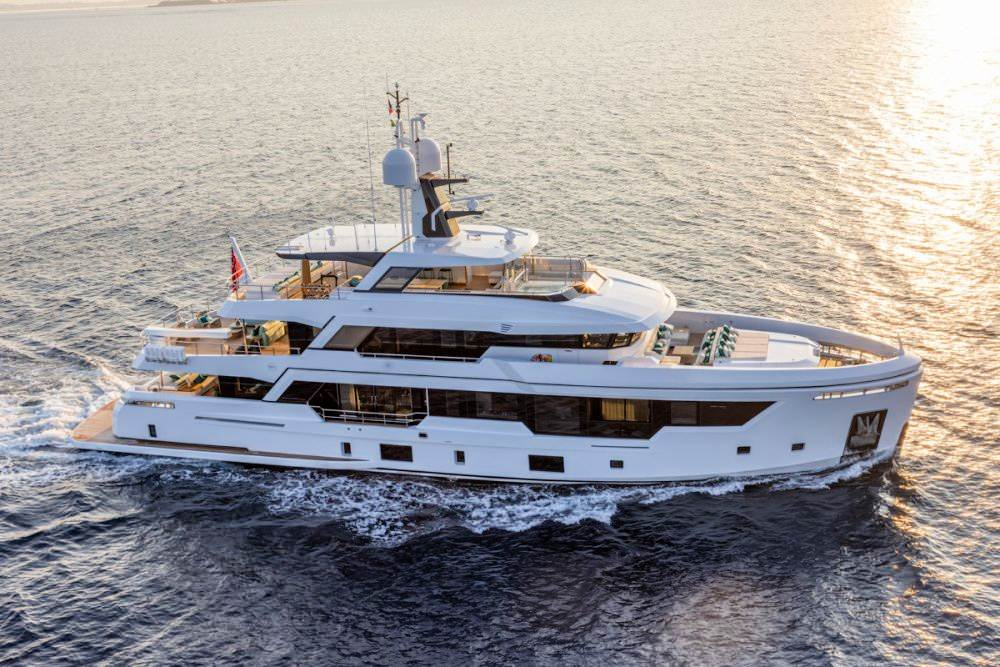 Rosetti reveal design and insights of RSY 38m EXP super yacht