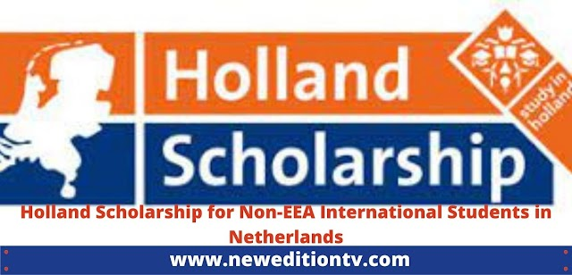 Holland Scholarship for Non-EEA International Students in Netherlands