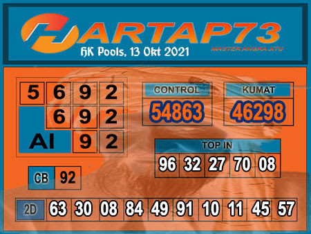 Hartap73 HK Rabu 13 Oktober 2021 -