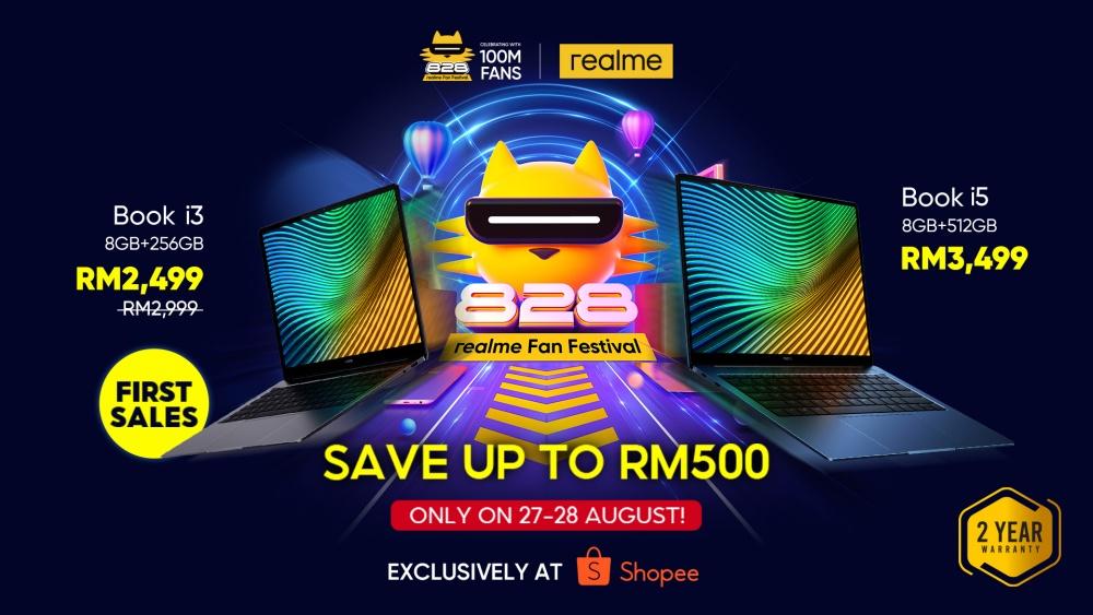 realme Malaysia, realme Book, realme Book i5, realmeBook i3, Laptop, Rawlins GLAM, Rawlins Tech, Rawlins Gadget Rawlins Lifestyle