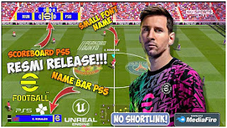 Download eFootball PES 2022 PPSSPP Last Update Full Transfer & New Kits Real Face Graphics Camera PS5