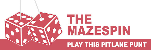 The Mazespin: play this Pitlane Punt