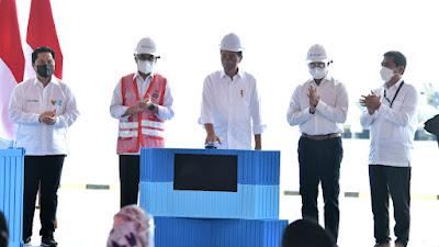 Presiden Resmikan Terminal Multipurpose Wae Kelambu Pelabuhan Labuan Bajo, NTT