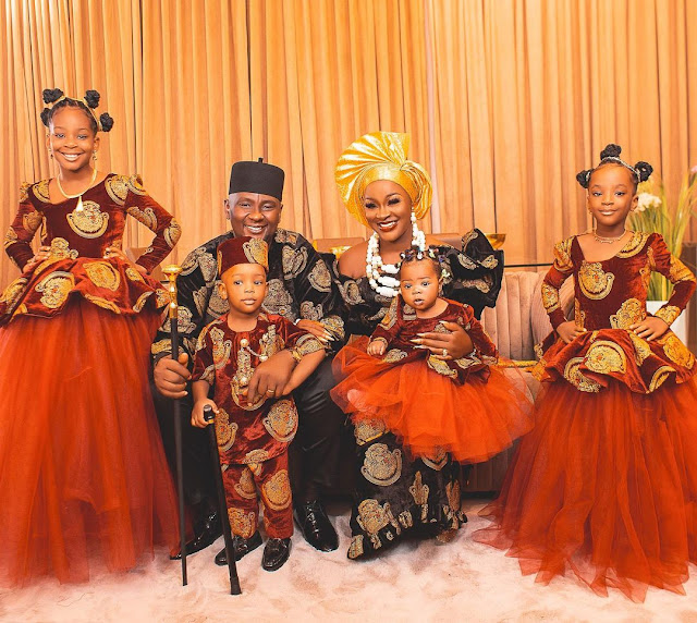 Lovely Photos of Actress Chacha Eke and her Family (Photos)