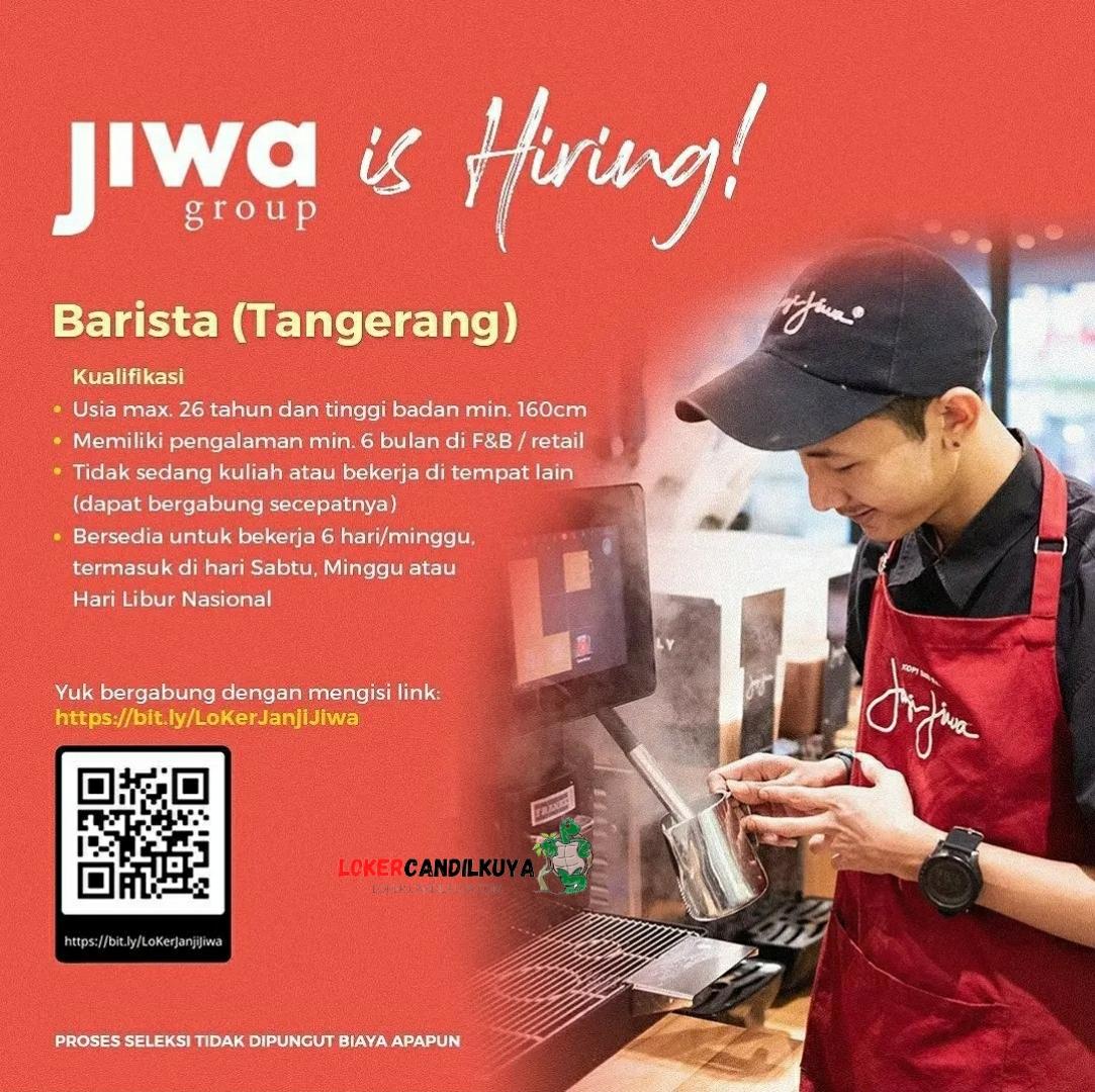 Lowongan Kerja Barista Janji Jiwa Tangerang