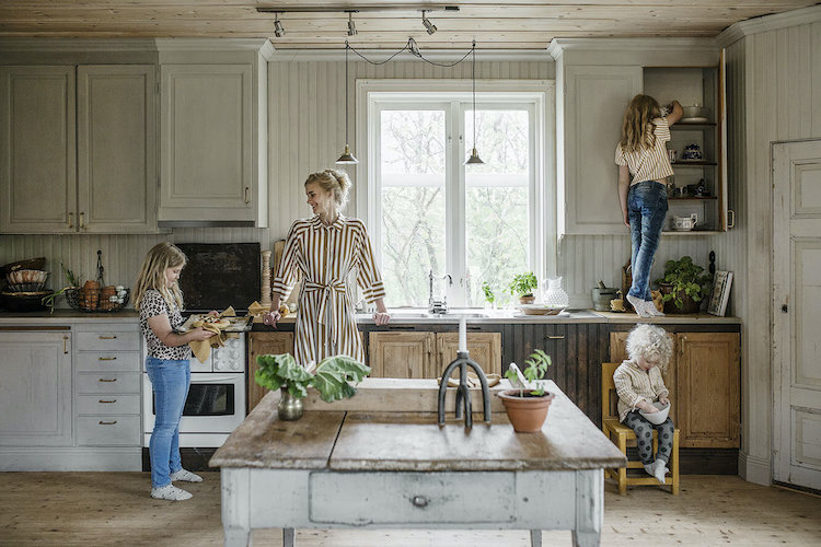 A Beautiful Rustic Home in Rural North Sweden