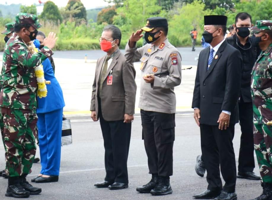 Resmikan Makogabwilhan dan Monumen Tri Marta, Ini Kata Panglima TNI