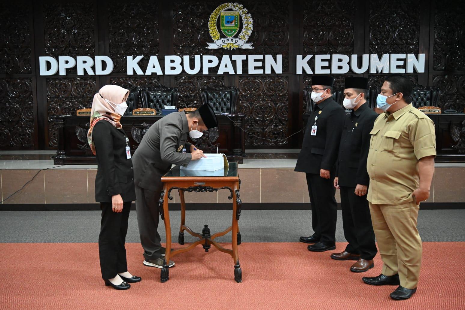 Perubahan APBD Kebumen Disahkan, Bantuan Keuangan dari Provinsi Berkurang Rp 330 Juta