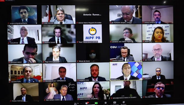 João Azevêdo prestigia posse do novo procurador-chefe do MPF-PB