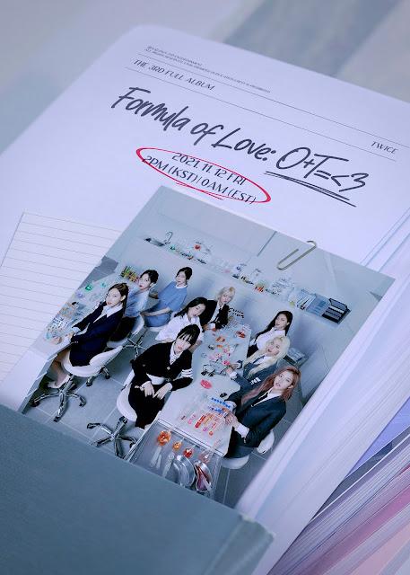 TWICE 3rd full album 'Formula of Love'