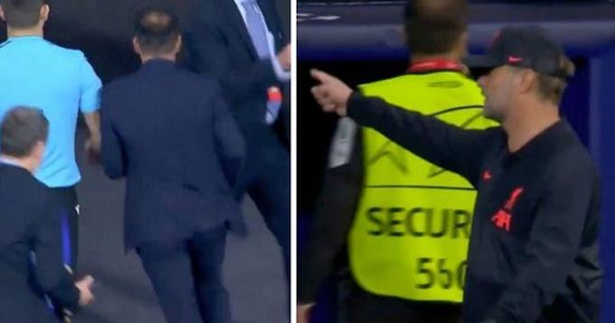 Klopp on Simeone snubbing his handshake