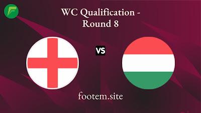 England vs Hungary
