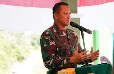 Harapan Danrem 012/TU Dan Bupati Aceh Barat Usai Meresmikan Koramil 11/Woyla Timur Jajaran Kodim 0105/Abar