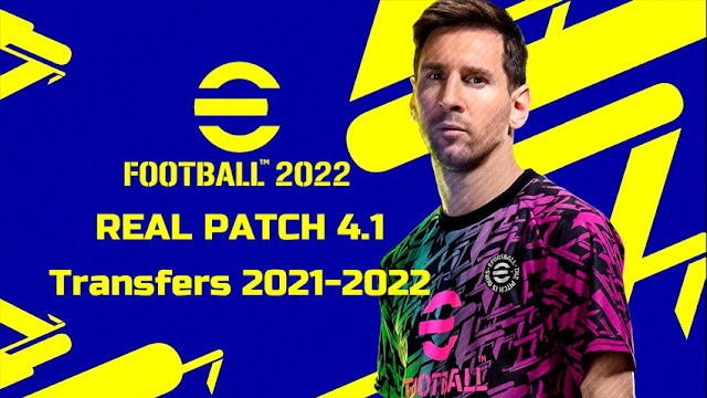 Real Patch 4.1 Transfers 2021-2022 (10 Aug 2021) For PES 2013