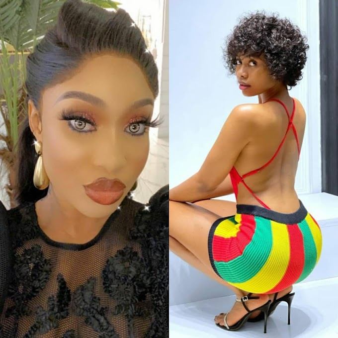 Sex tape allegation: You can't be begging me behind the scene to save your marriage and then come with a petition. See you in court - Tonto Dikeh tells Janemena
