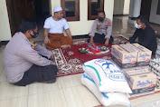 Pacsa Kebakaran, Polsek Kopo Salurkan Bantuan ke Ponpes Nurul Huda