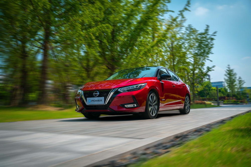 Nissan unveils e-Power on Sylphy in China