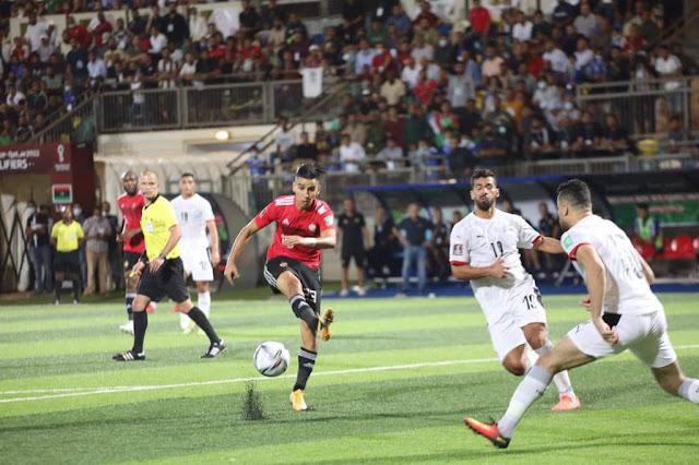 ملخص واهداف مباراة مصر وليبيا (3-0) تصفيات كأس العالم