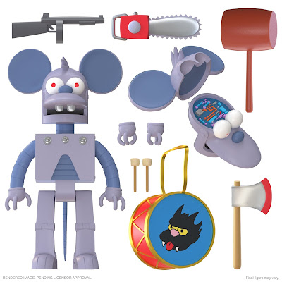 The Simpsons Ultimates! Action Figures Wave 1 by Super7