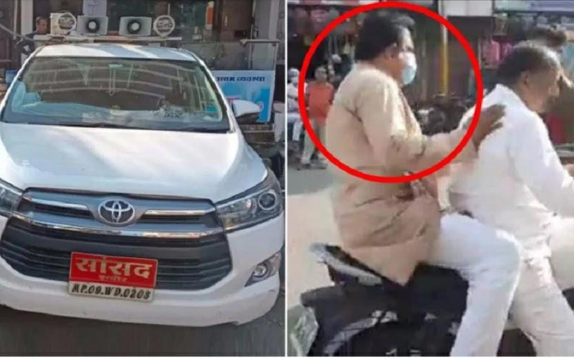 Mobilnya Ditilang Polisi, Wakil Rakyat Ini Pilih 'Kabur' Naik Motor