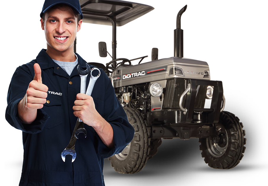 DIGITRAC – Tractors and Services Re-imagined