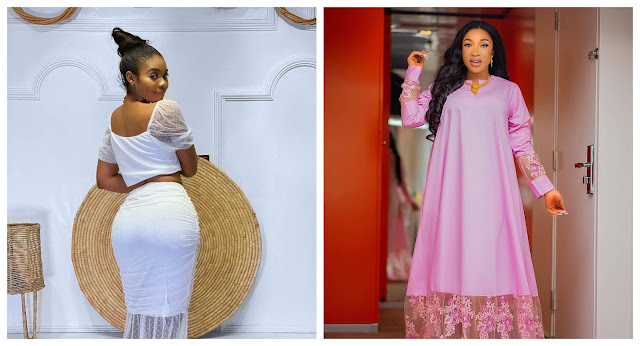 This child knows nothing, I will show her what elders stands for- Tonto Dikeh reacts after Jane mena dared her to release her s!x tape