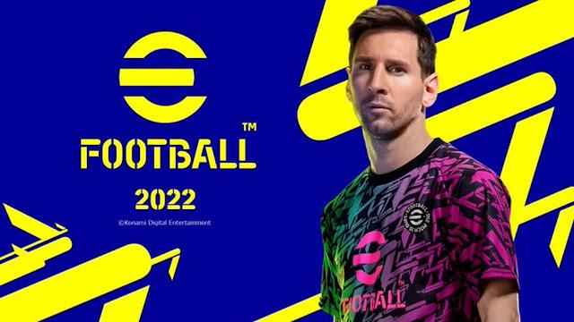 Lionel Messi é a principal estrela das campanhas de divulgação do eFootball 2022 — Foto: Divulgação/Konami