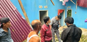 Akibat angin kencang, Satu Rumah Warga Sekernan Hancur Tertimpa Pohon Durian