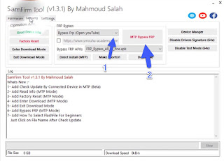 Remove FRP Bypass Samsung A20s SM-A207F Via Samfirm
