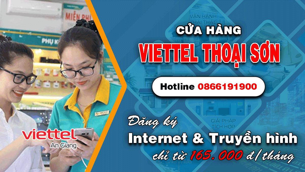 Cửa hàng Viettel Thoại Sơn An Giang