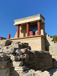 Palace of Knossos - northwest propylaea.