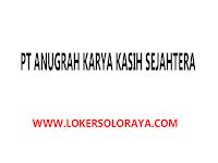 Lowongan Apoteker Sukoharjo di PT Anugrah Karya Kasih Sejahtera
