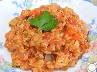 Orez cu legume si soia de post reteta de casa taraneasca retete mancare pilaf preparat vegan,