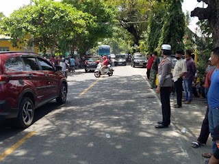 Kasat Lantas Polres Bantaeng Pimpin Langsung Patroli dan Pengaturan Lalin