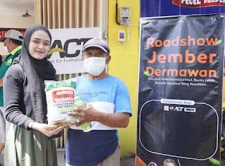 ACT Gandeng Sejumlah Komunitas Louching Gerakan Jember Dermawan