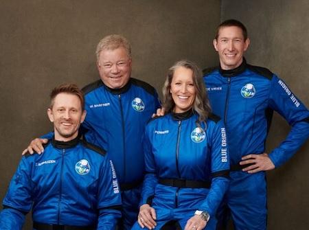William Shatner has been in space