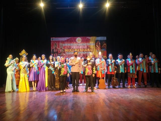 Kabid Humas Polda Lampung Jadi Dewan Juri Final Pemilihan Muli-Mekhanai 2021